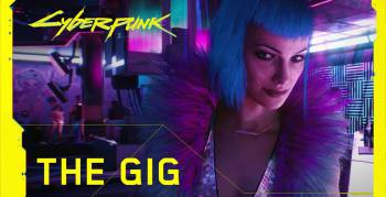 "Pointer zeigt dir den brandneuen Trailer zu ""Cyberpunk 20177"" (Screenshot: YouTube-Channel Cyberpunk 2077)"