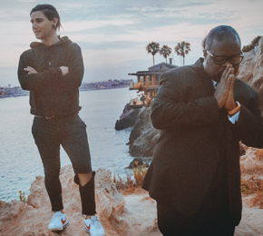 "Skrillex (l.) hat den Song ""Would You Ever"" ft. Poo Bear herausgebracht (Foto: Liam Underwood)"