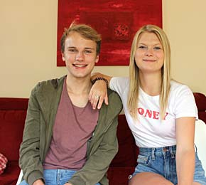 Sieh hier den zweiten Teil des Gesprächs zwischen Pointer-Vlogger Justus und Marile an, die als Au-pair in den USA war (Foto: Justus Spitzer/Public Address)