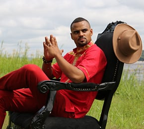 "Mohombi stellt seine neue Single ""Mr Loverman"" vor (Foto: Mohombi/PowerHouse)"
