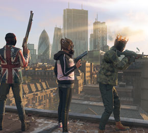 "In ""Watch Dogs Legion"" spielst du verschiedene Charaktere in London (Foto: Ubisoft)"
