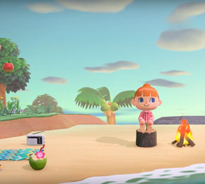 "In ""Animal Crossing: New Horizons"" verschlägt es dich auf eine kleine Insel (Screenshot: https://www.youtube.com/watch?v=lUpsYvY6hLM / Nintendo DE)"