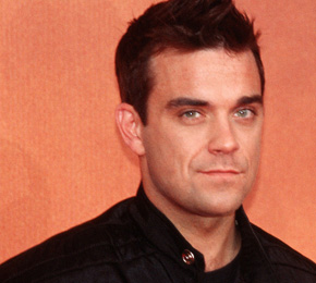 Robbie Williams im Interview (Foto: Public Address)