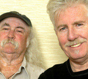 David Crosby und Graham Nash  (Foto: Public Address)