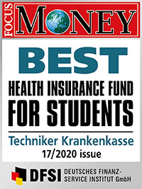 Best health insurance fund for students - Techniker Krankenkasse
