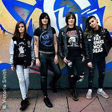The Ramonas - All Girl Ramones Tribute Band