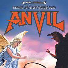 Anvil - Legal At Last Tour 2020