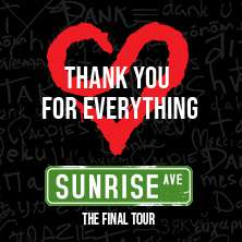 Sunrise Avenue - Thank You For Everything - The Final Tour 2020