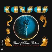 KANSAS - Point of Know Return - Anniversary Tour 2021