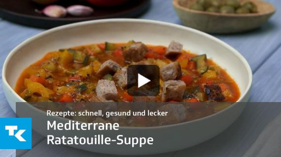 Mediterrane Ratatouille-Suppe