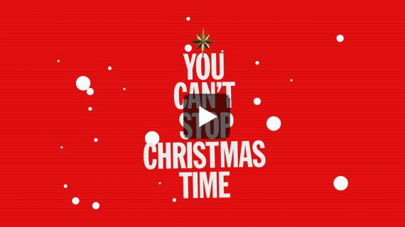 Robbie Williams   Can't Stop Christmas (Official Lyric Video)