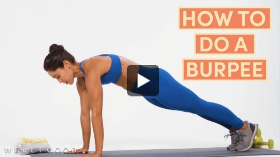 How To Do A Burpee | The Right Way | Well+Good