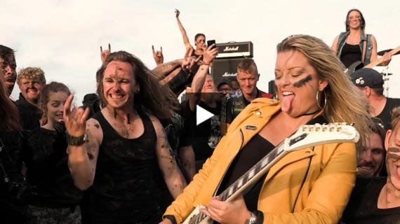 THUNDERMOTHER - Into The Mud (2020) // Official Music Video // AFM Records