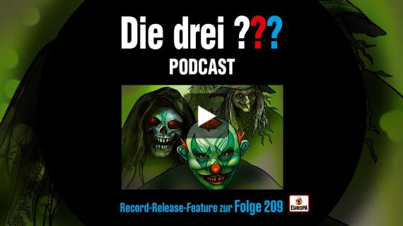 Die drei ??? - Record Release Feature Folge 209 | Sonder Podcast