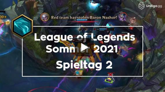 Uniliga League of Legends SS2021 | Spieltag 2 - Highlights