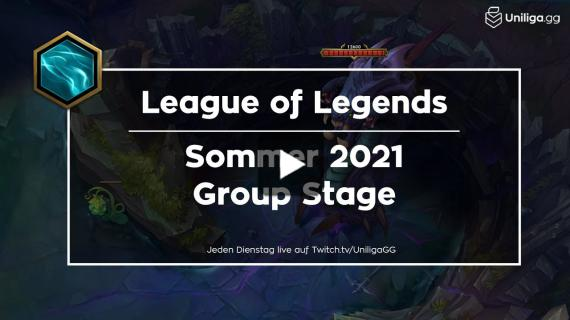 Uniliga League of Legends SS2021 | Highlights Group Stage